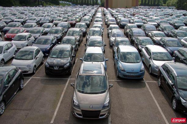 Le marché des voitures d'occasion