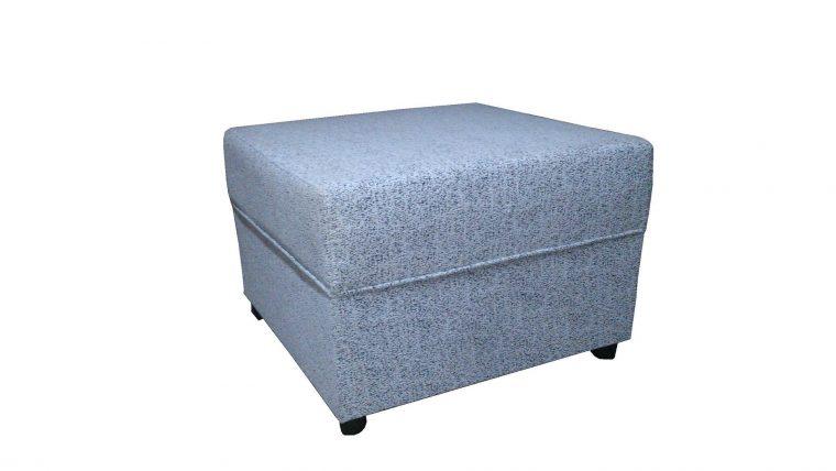 Le pouf coffre gris un indispensable pour un espace chaleureux et cocooning